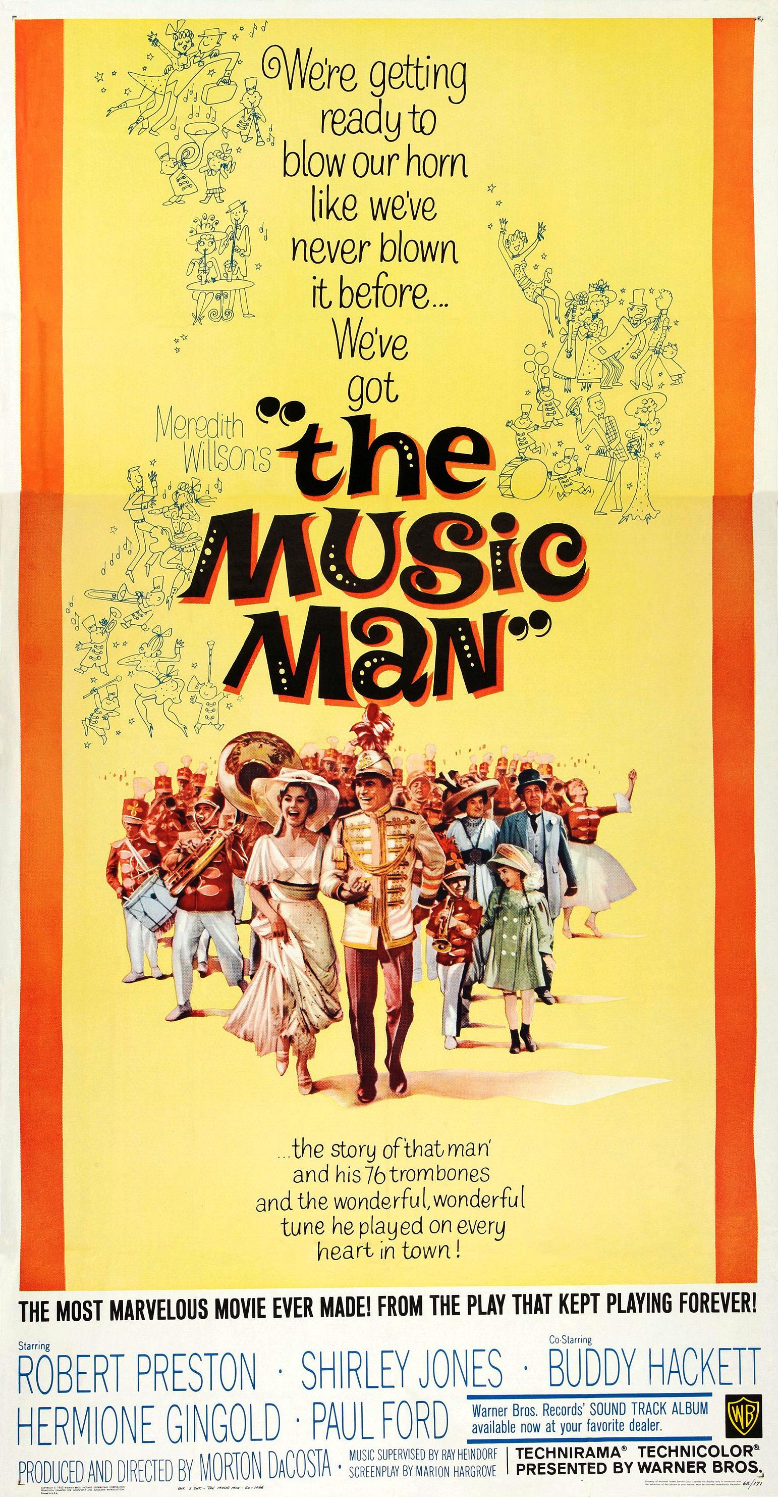 The Music Man (1962 film) - Wikipedia