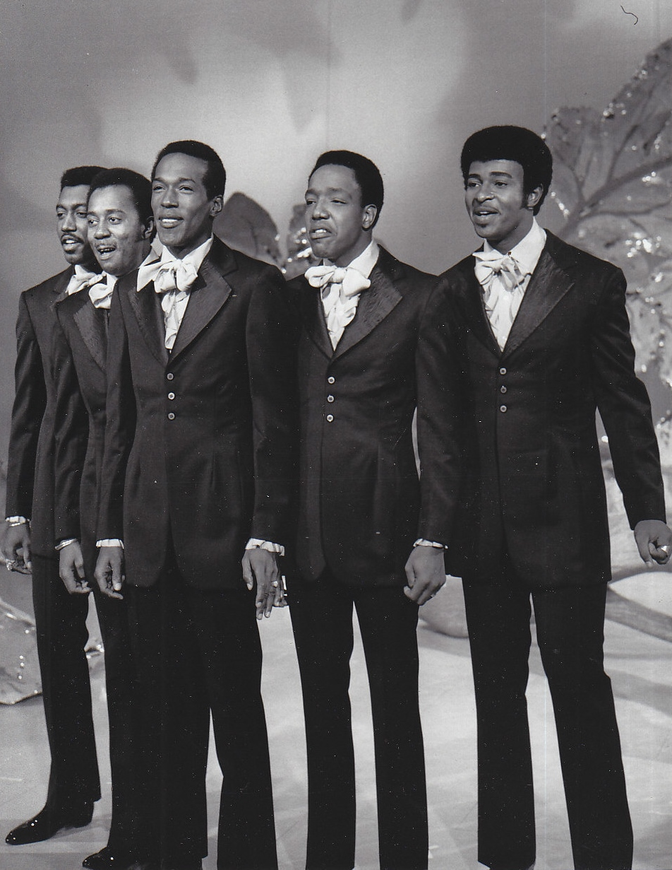 Depiction of The Temptations