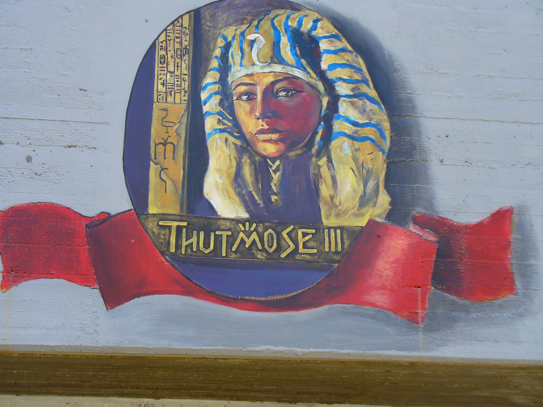 Tuthmosis Iii Drawing File:thutmose Iii Wall