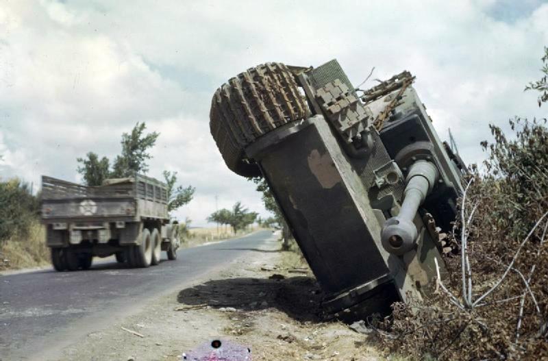 Денис танк тигр в америке устанавливаемые дороге