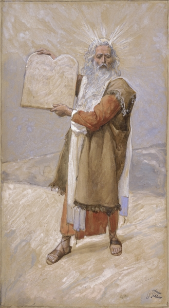 Moisés y los Diez Mandamientos. James Tissot Tissot_Moses_and_the_Ten_Commandments