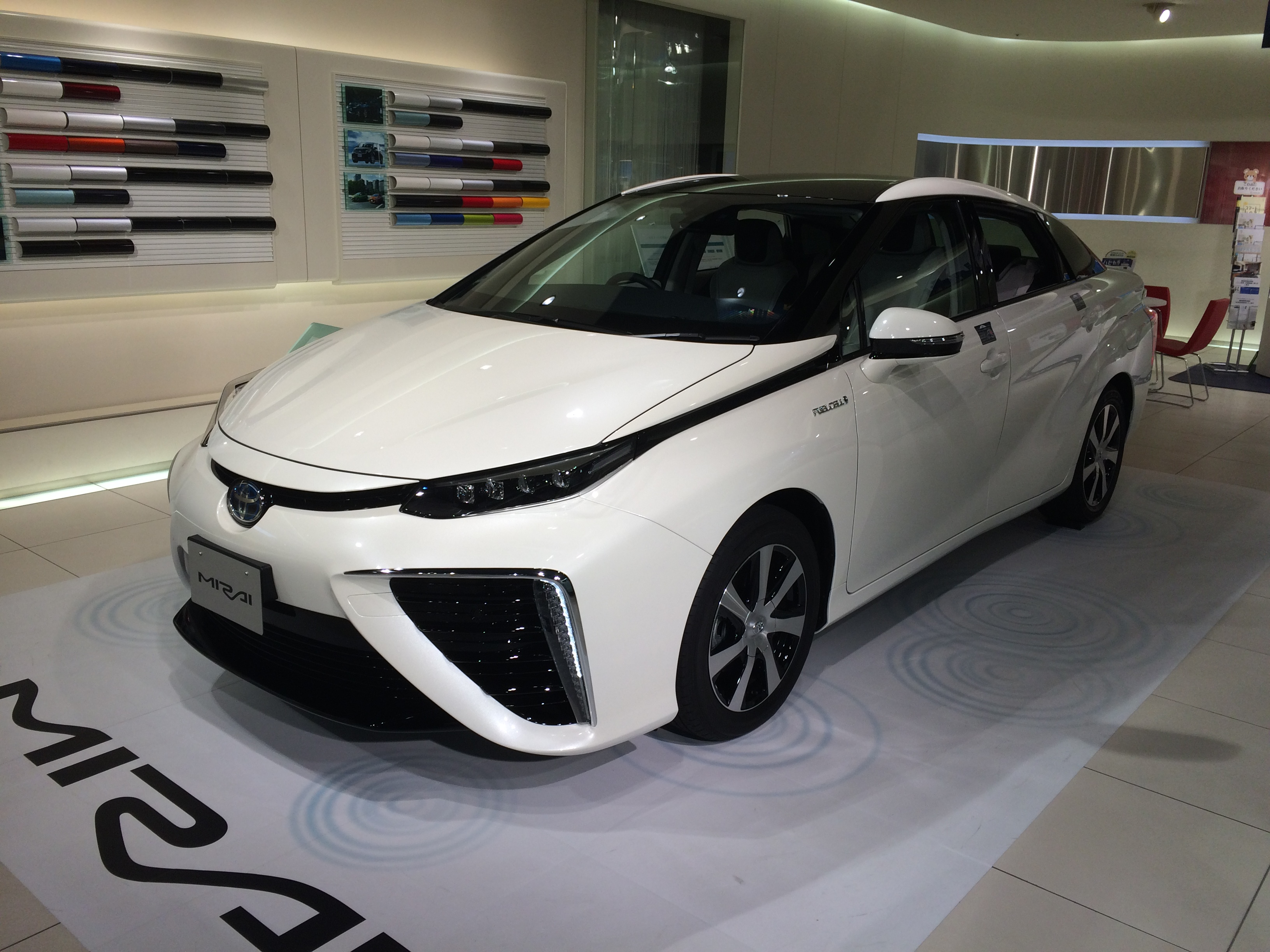 File Toyota Mirai 2015photo Jpg Wikimedia Commons