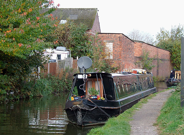 Trent and Mersey Canal in Rugeley, Staffordshire - geograph.org.uk - 1559258