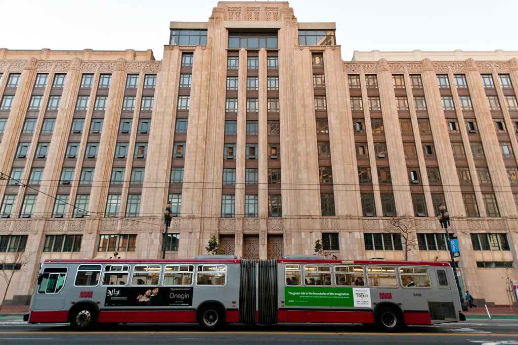Twitter's San Francisco headquarters located at 1355 Market St.