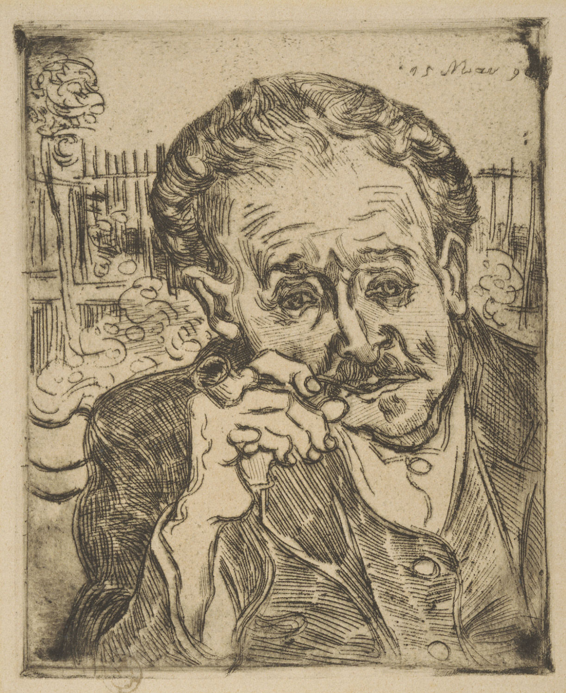 File Vincent Van Gogh Man With A Pipe Portrait Of Dr
