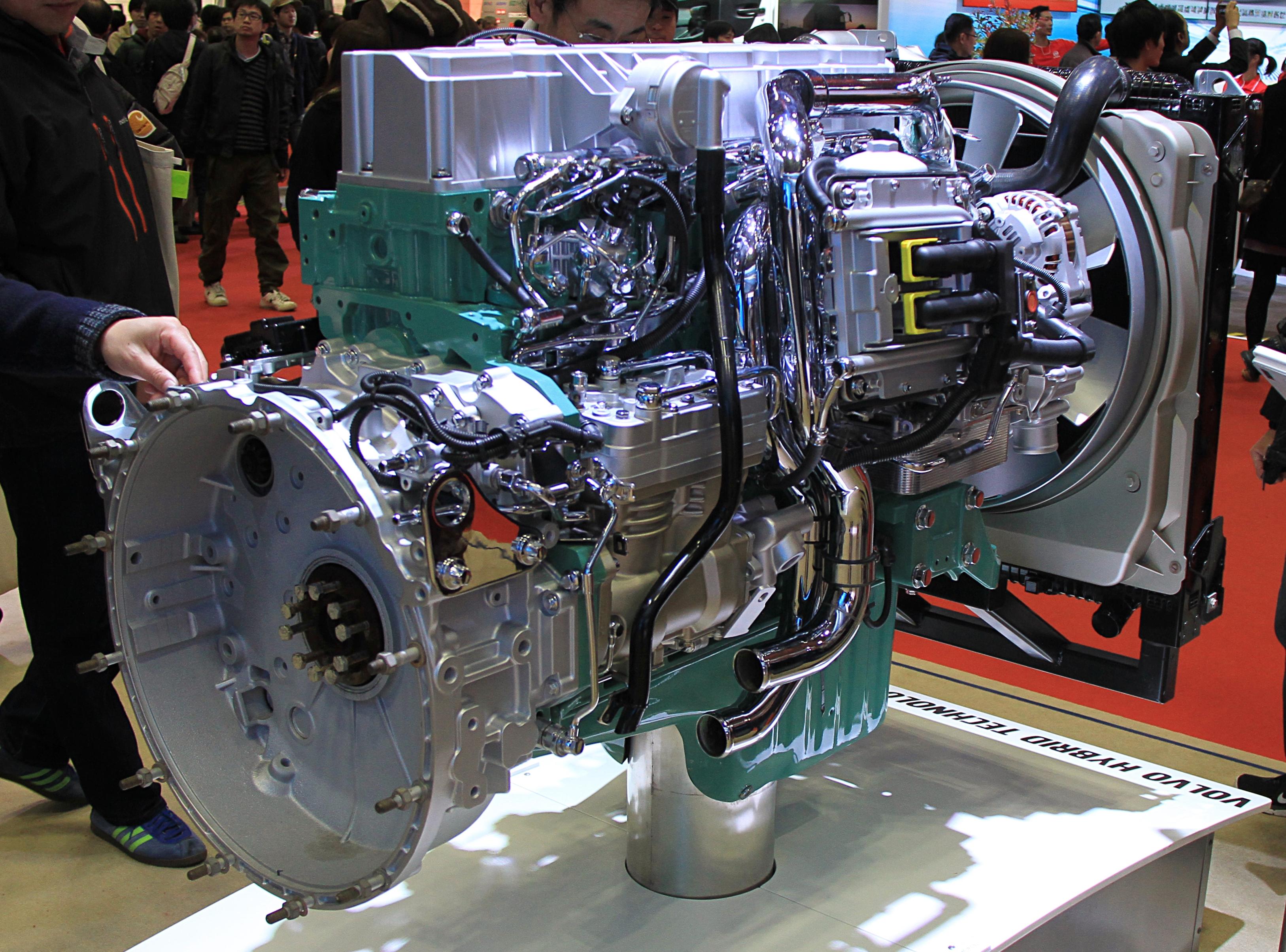 File Volvo Trucks D7 Hybrid System Jpg Wikimedia Commons