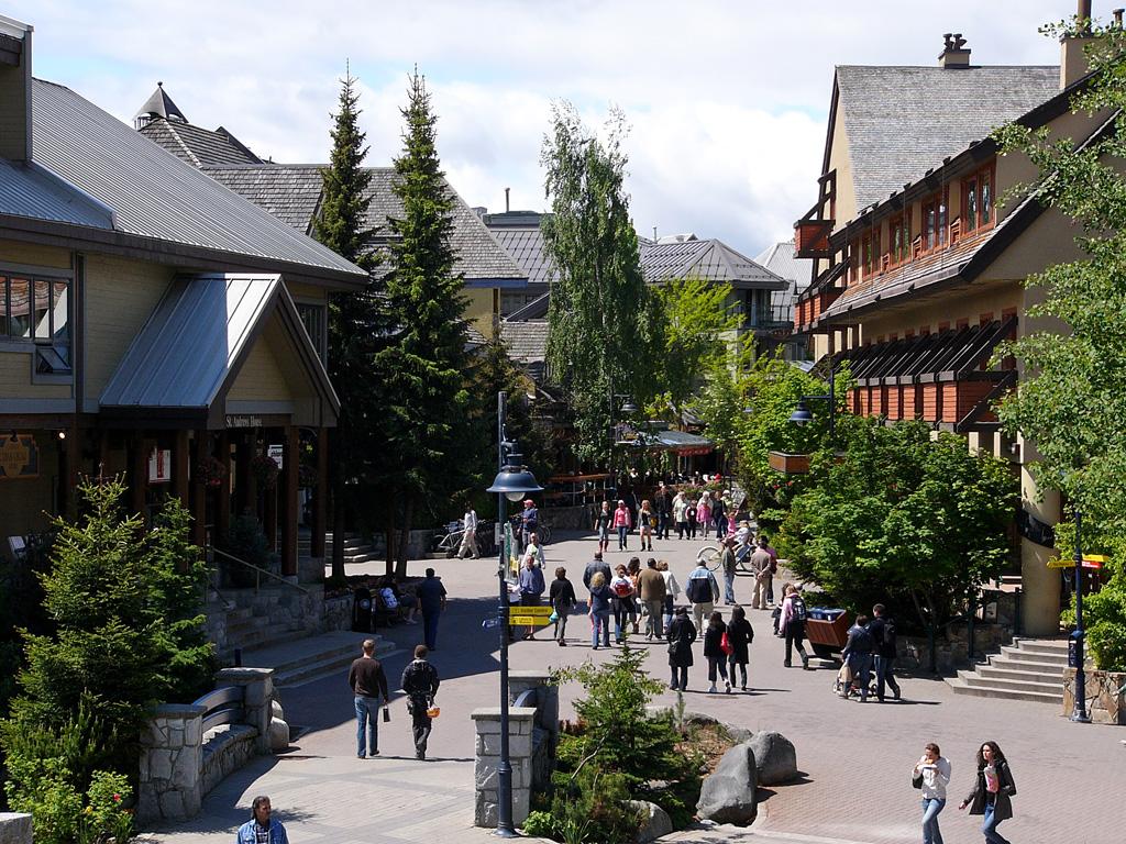 Image result for whistler village
