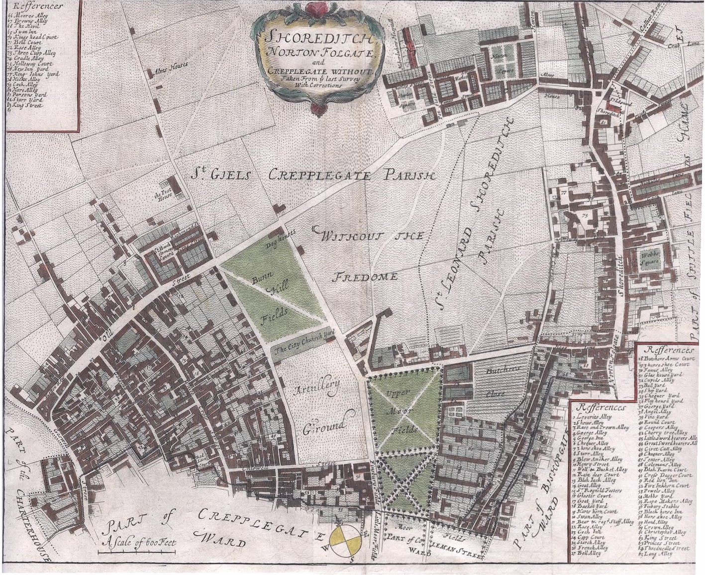 Stows Map Of Shoreditch Maps Pinterest Maps And The Ojays - Oral map