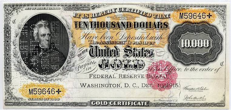 File:1900 $10000 Gold Certificate front.jpg