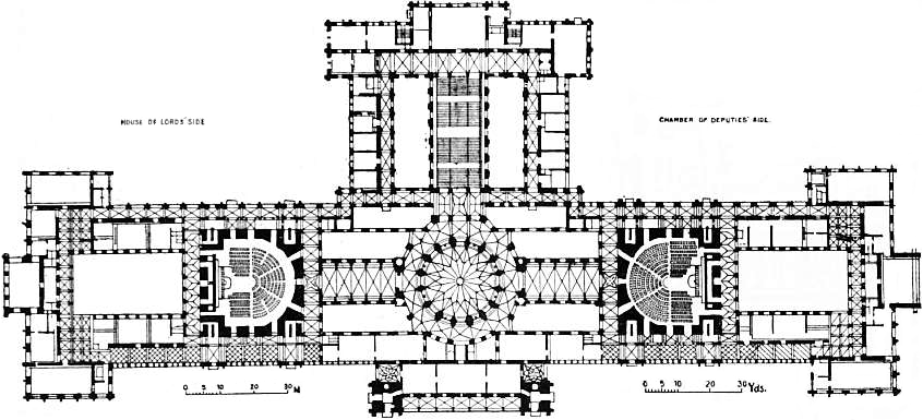 1911 Britannica-Architecture-Parliament of Hungary Plan.png