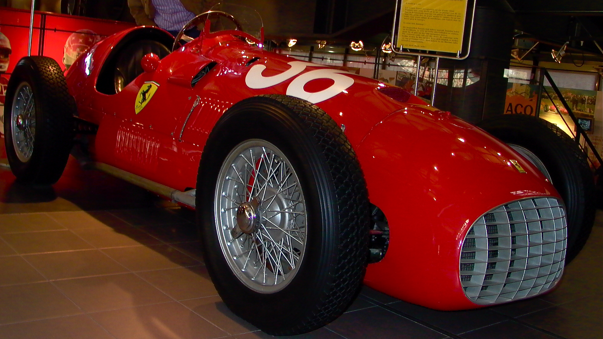 1951_Ferrari_375F1 Marvelous Photo Ferrari Mondial 8 Quattrovalvole Rouge Occasion Cars Trend
