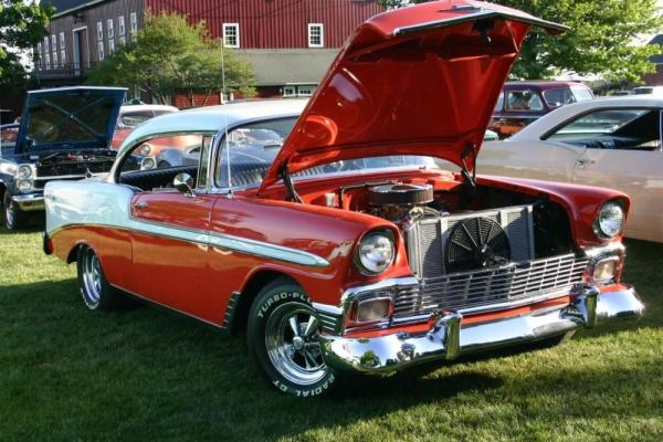 56 chevy tail lights
