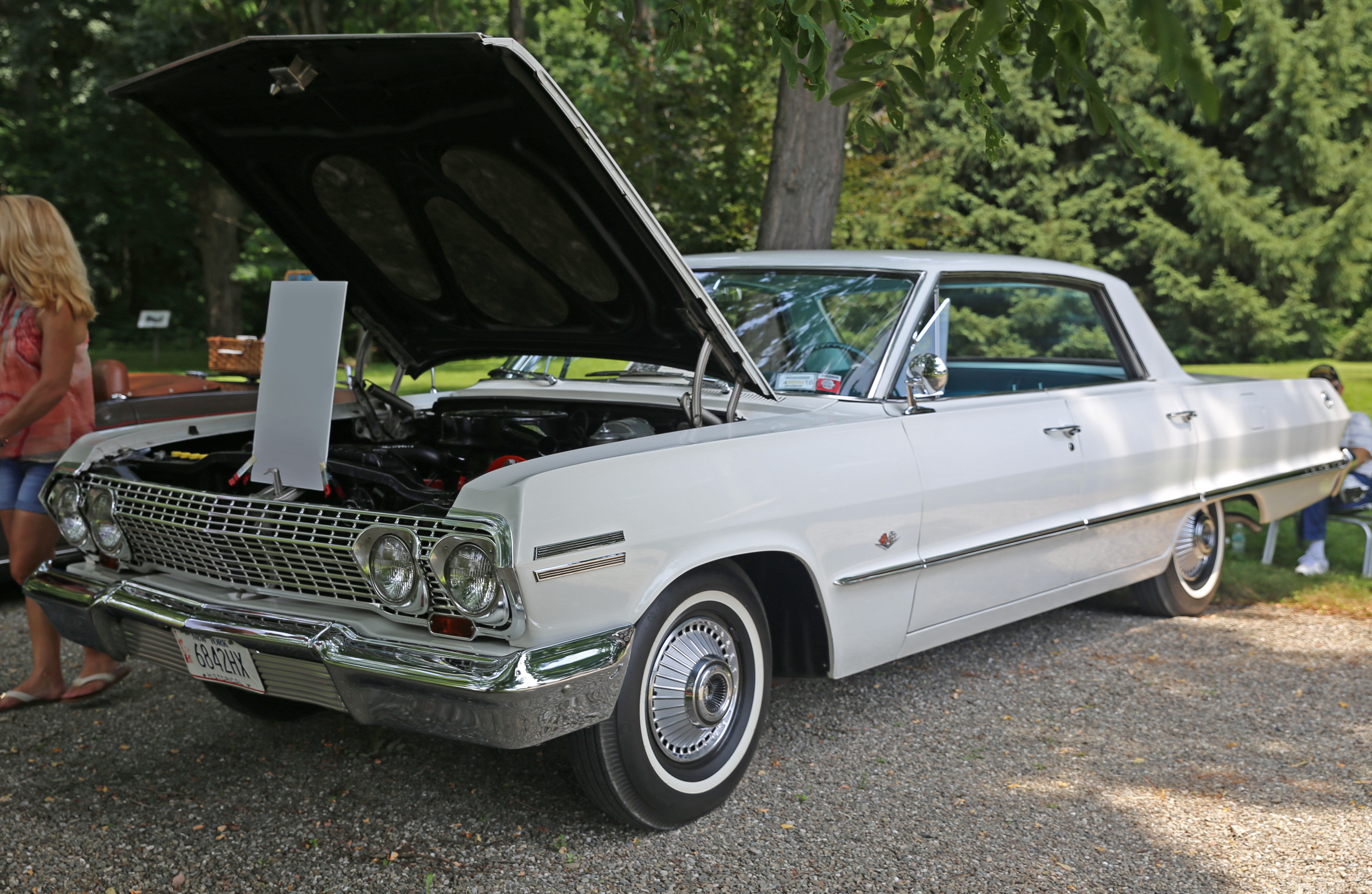 File 1963 Chevrolet Impala Sports Sedan 4 Dr Front Left Jpg Wikimedia Commons
