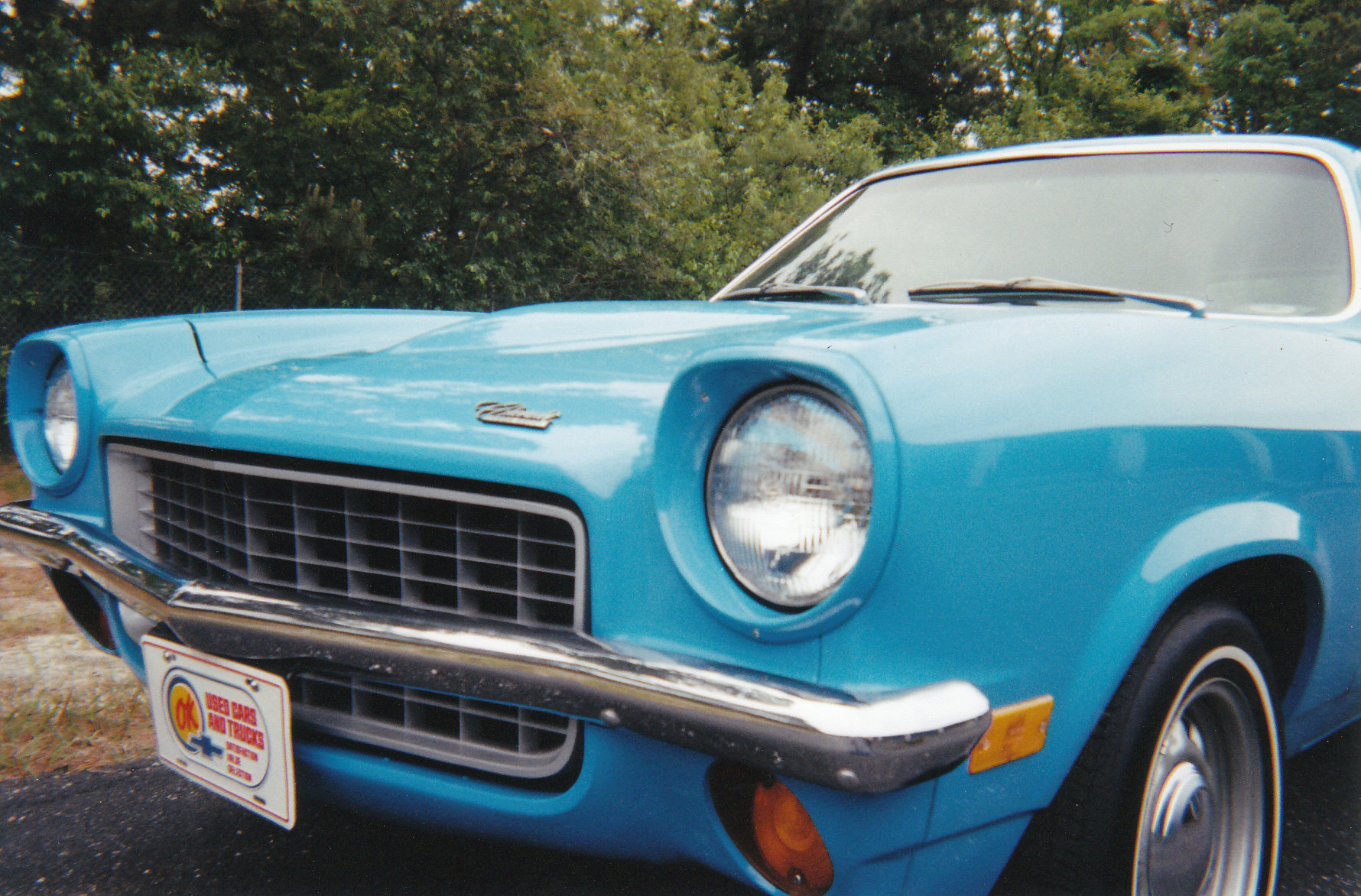 File 1971 Chevy Vega Grill Jpg Wikimedia Commons