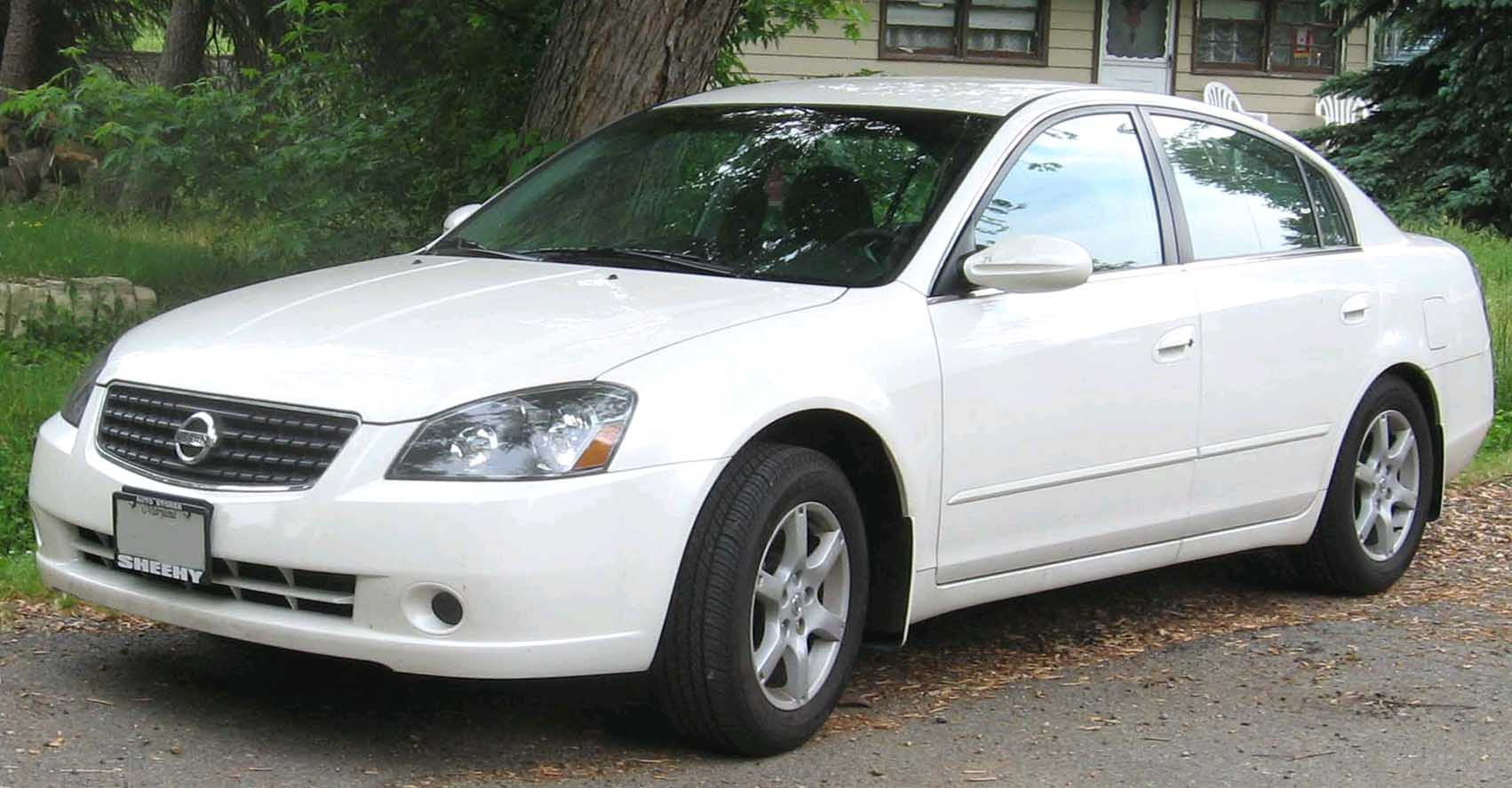 File 2005 2006 Nissan Altima 2 5s Jpg Wikimedia Commons