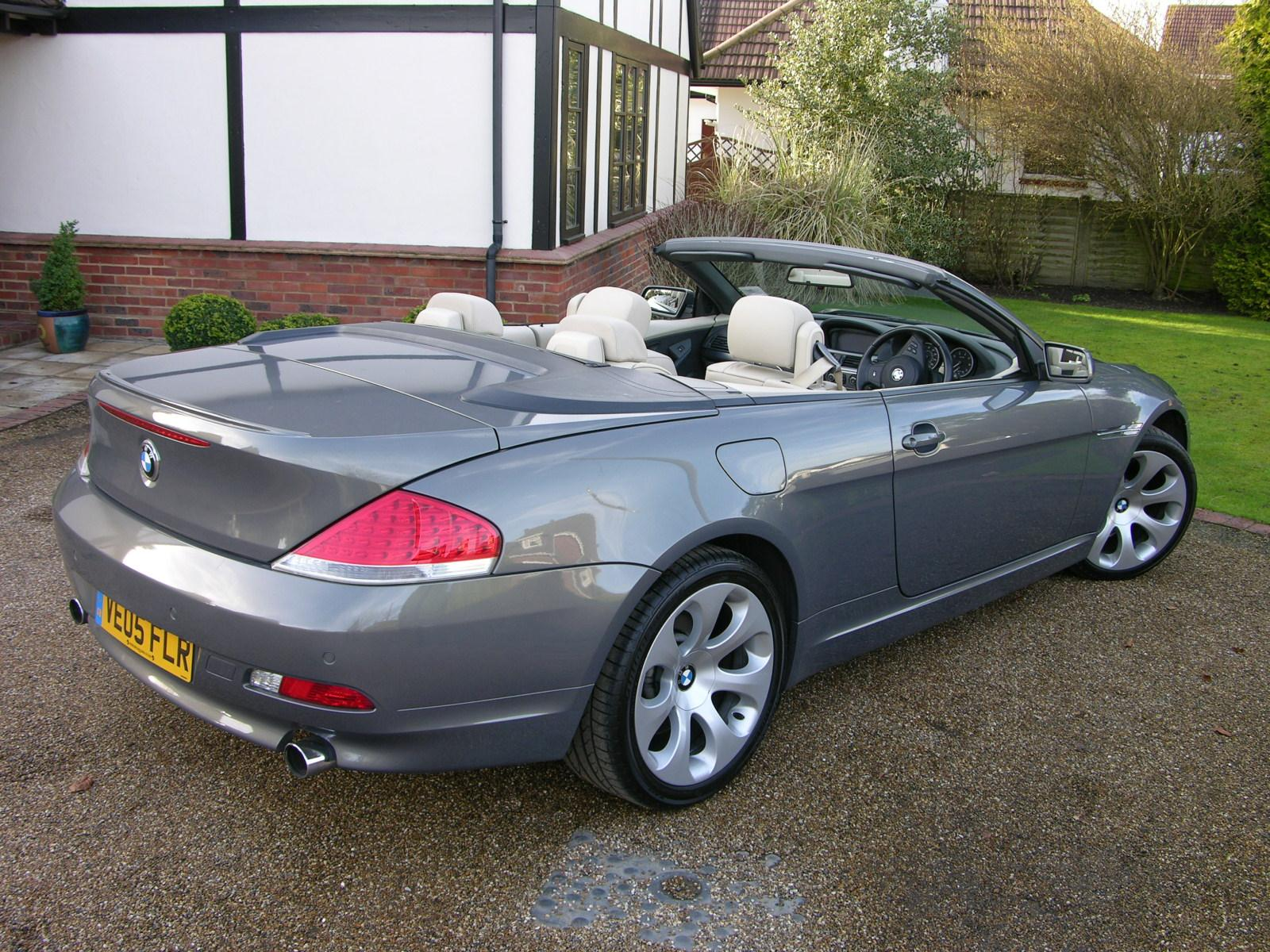 file 2005 bmw 645ci cabriolet flickr the car spy 18 jpg wikimedia commons