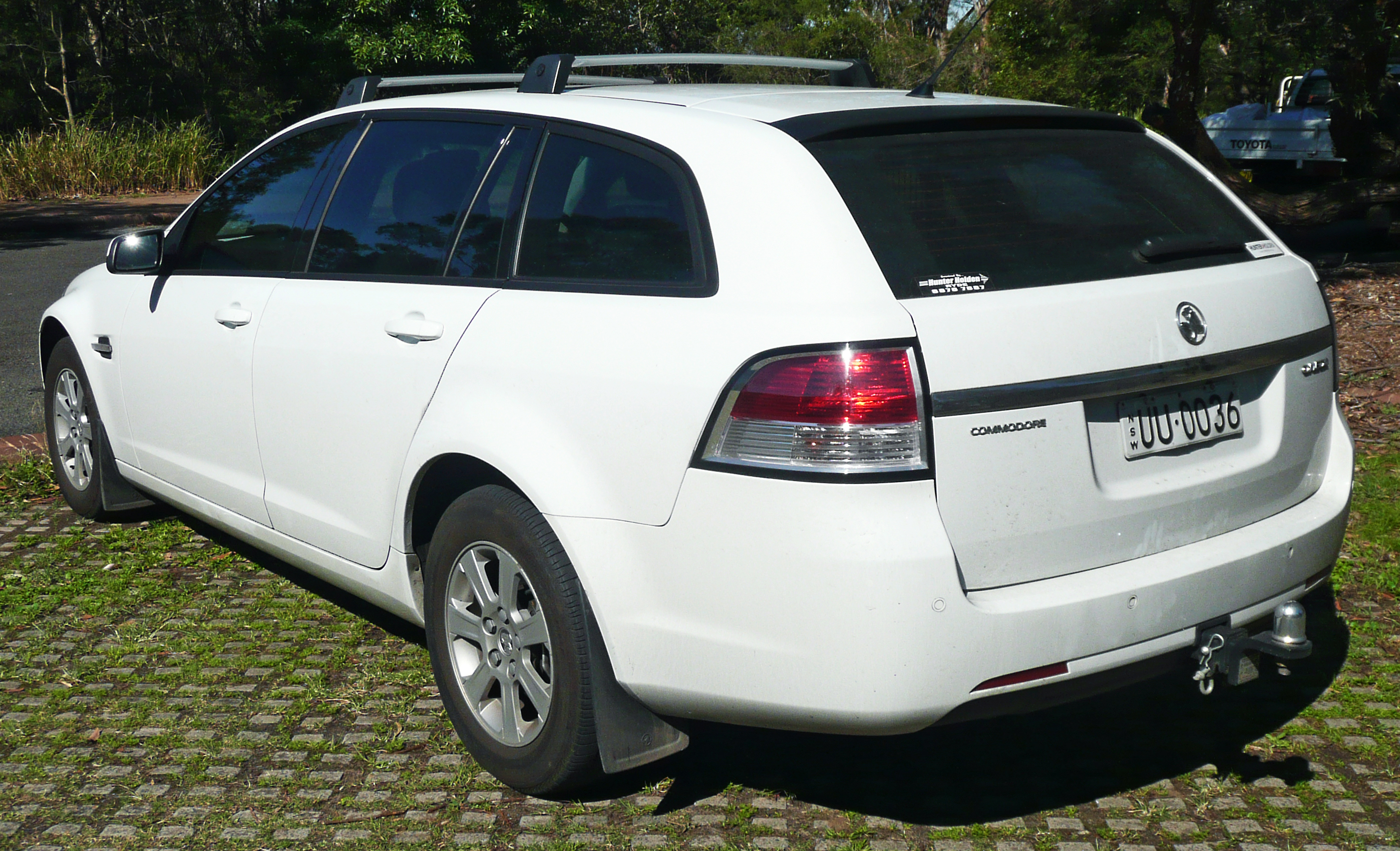 2008 holden commodore ve omega station wagon