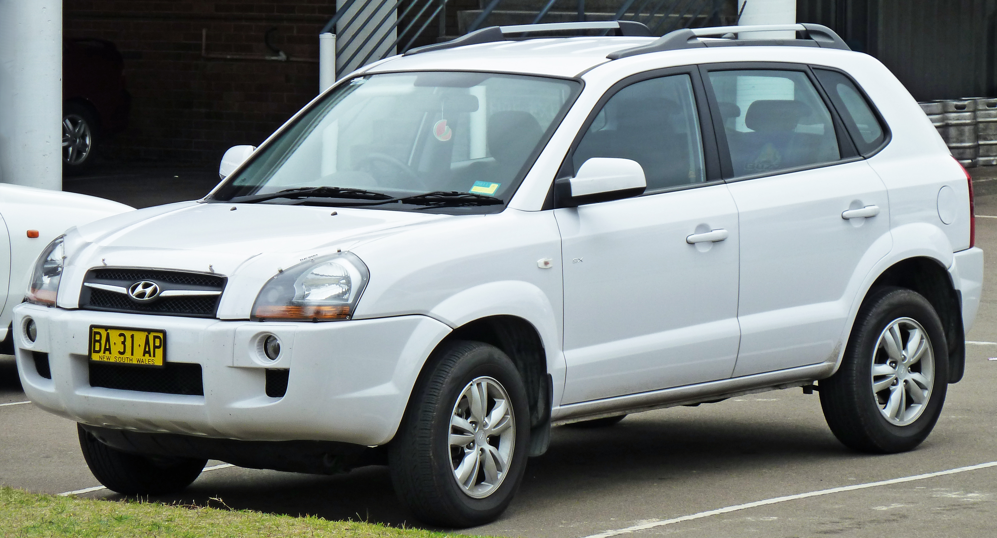 2008 hyundai tucson city sx