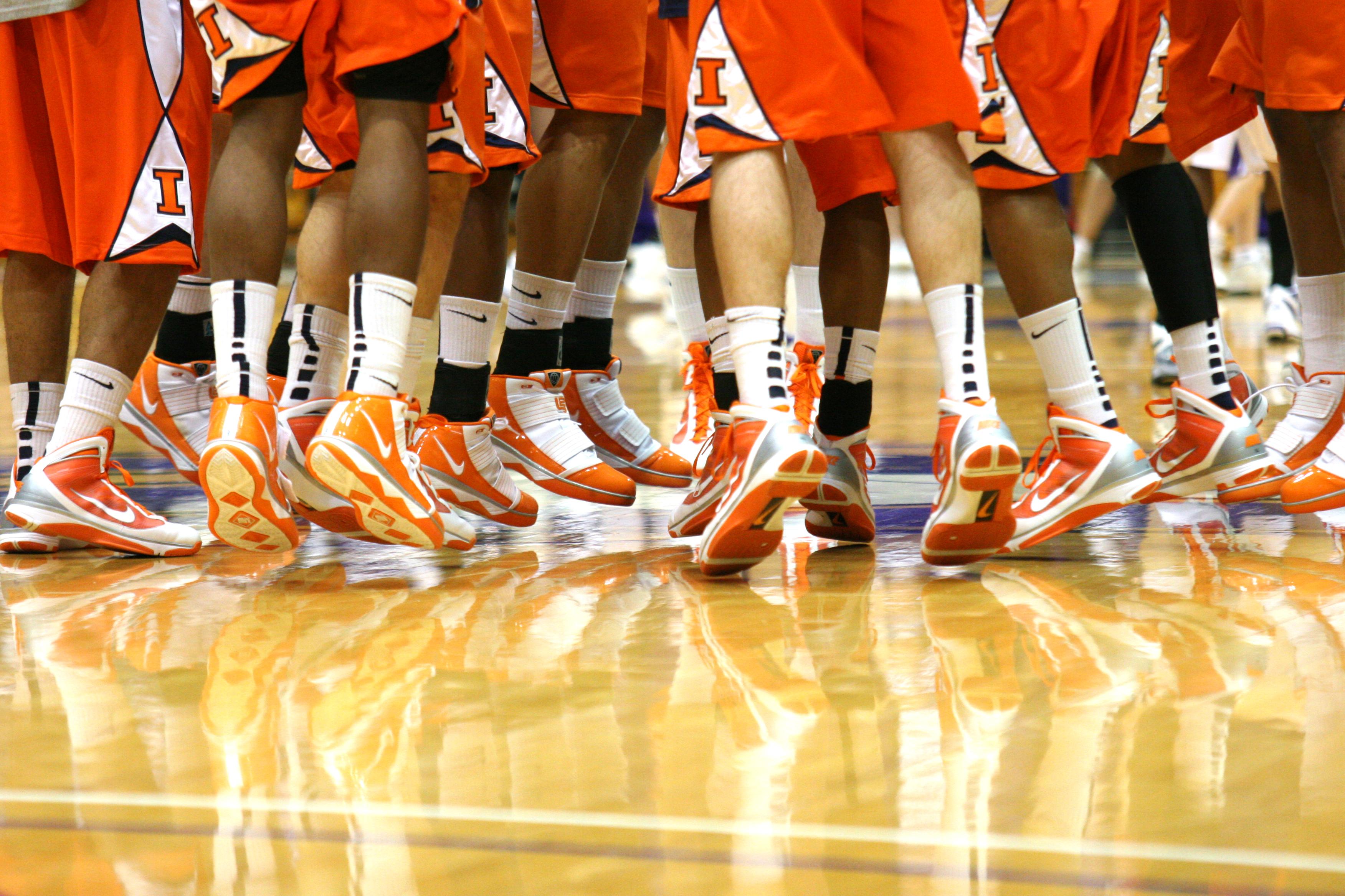 Illinois Fighting Illini men's basketball players