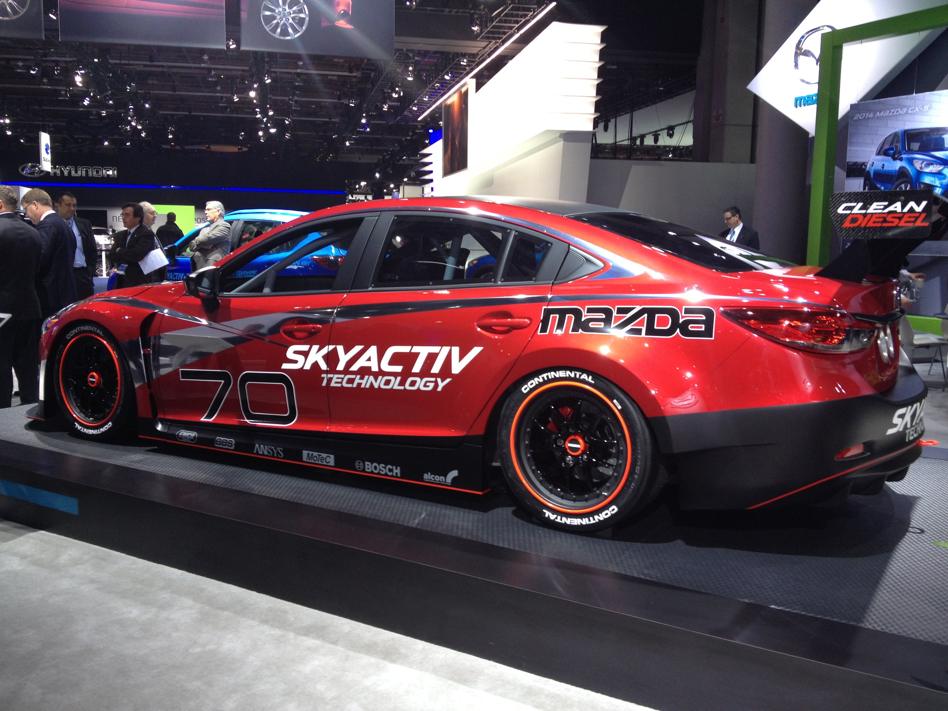 file 2014 mazda6 skyactiv d race car 8404433198 jpg. Black Bedroom Furniture Sets. Home Design Ideas