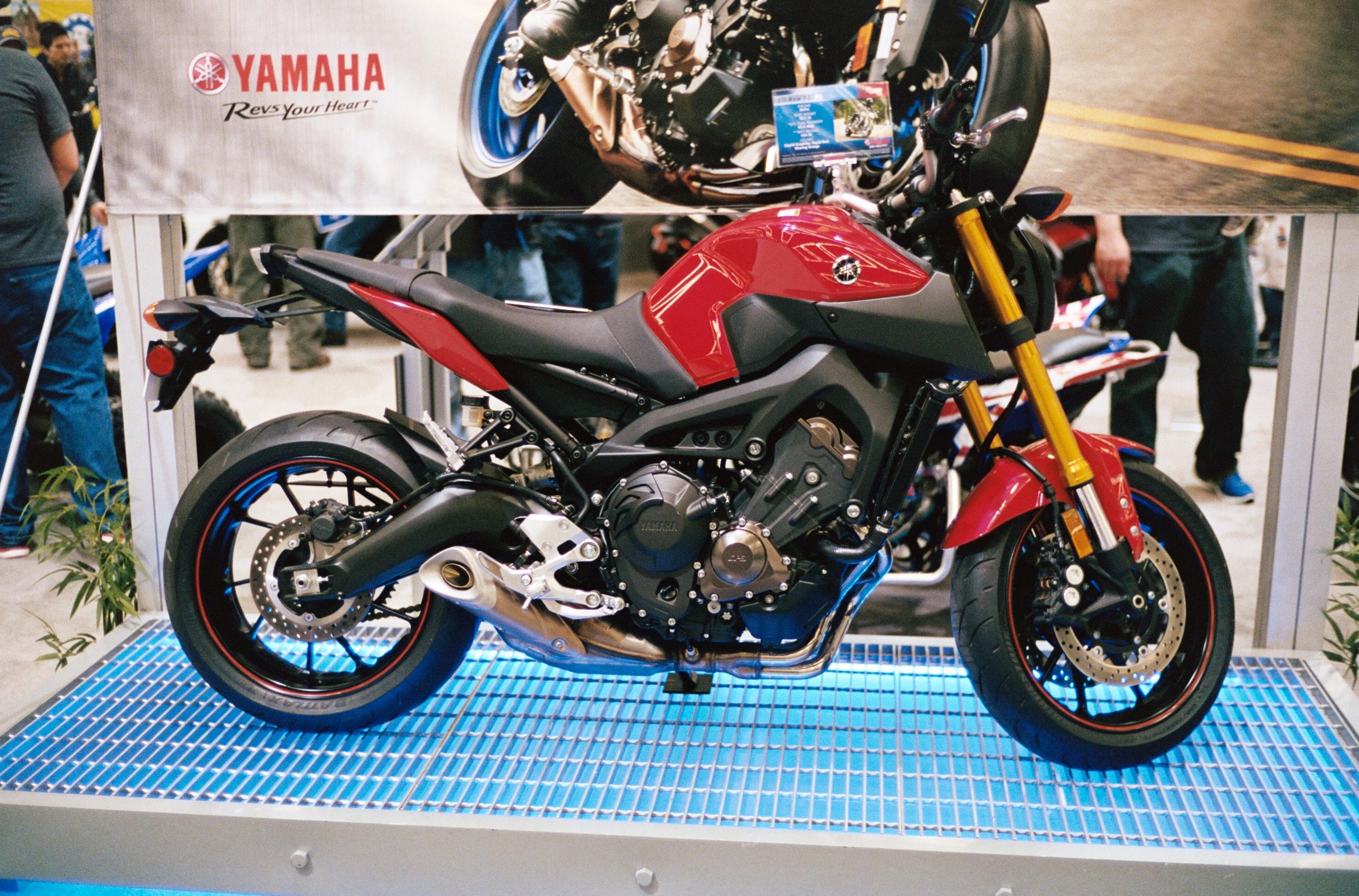 Yamaha MT 15 Wikipedia: File:2014 Yamaha FZ-09.JPG