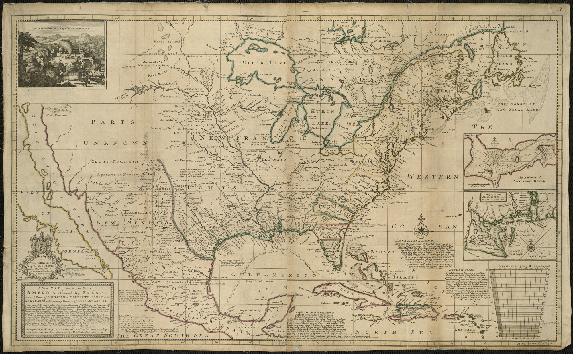 Map Of England To France.File A New Map Of The North Parts Of America Claimed By France Under