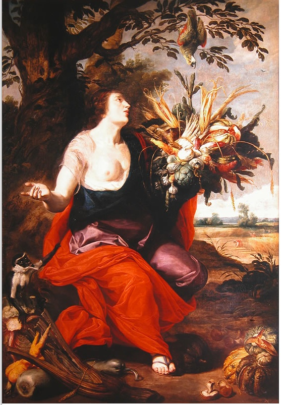 Modern Flowchart Symbols: Abraham Janssens - The Goddess Ceres and the Symbols of ,Chart