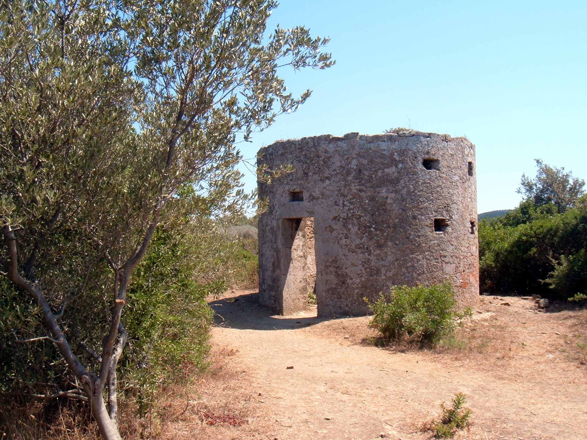 Acropolis of Populonia, tower