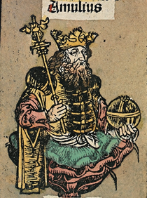 Amulius Silvius from Nuremberg chronicles.png