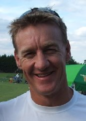 Andy Bichel at the Ashley Cowan Benefit Match,...