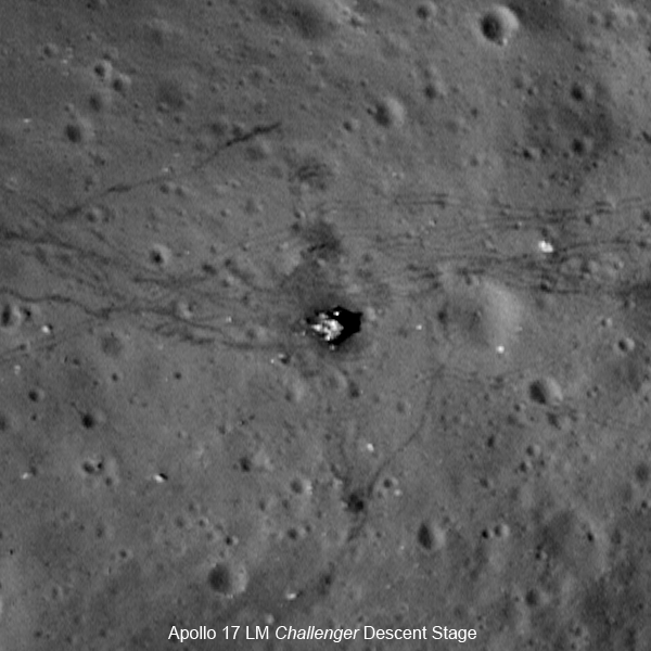 Apollo 17 Landing site.