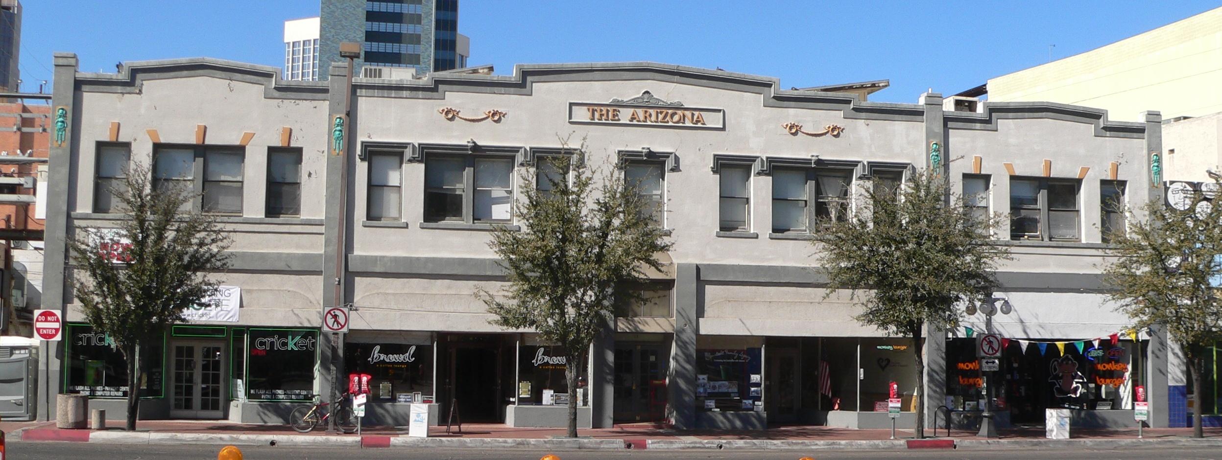 File Arizona Hotel 6th Ave Tucson From E Jpg
