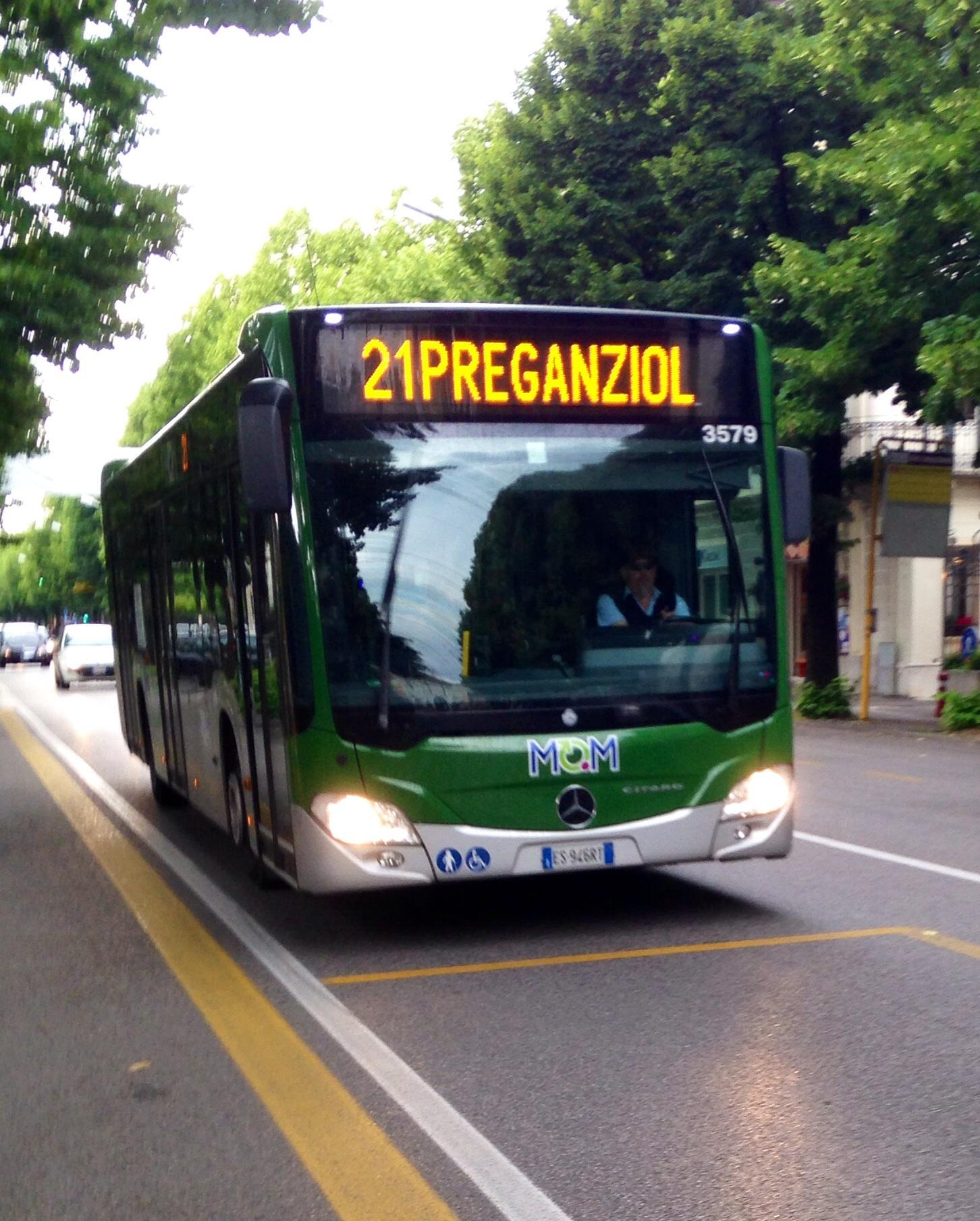 File Autobus Linea 21 Direzione Preganziol Di Mom
