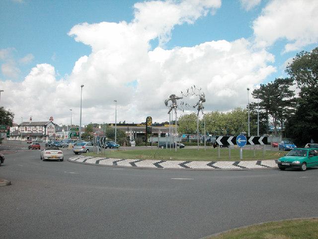 File:Bache Roundabout - geograph.org.uk - 33827.jpg