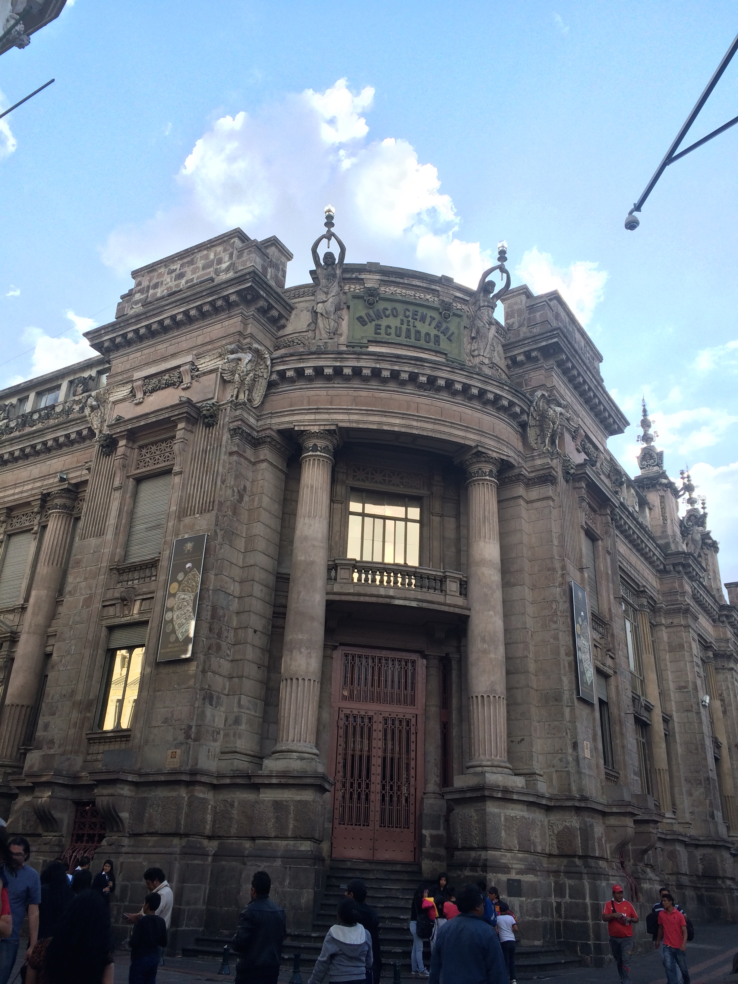 Central Bank of Ecuador in Quito