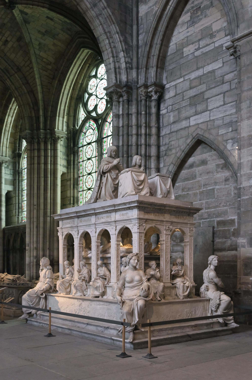 Saint Denis Gard: File:Basilique Saint-Denis Louis XII Anne De Bretagne