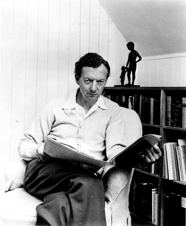 Britten in the mid-1960s, by [[Hans Wild