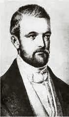 Portrait d'Otto von Bismarck en 1847