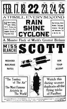 Poster for an air show in Oakland, California Blanche Scott poster.jpg