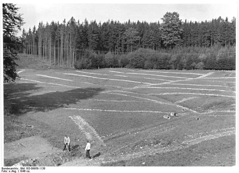 Meliorationsarbeiten bei Großhennersdorf, 1946