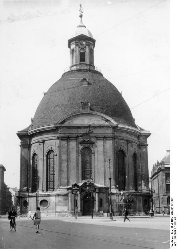 Dreifaltigkeitskirche Berlin Wikipedia