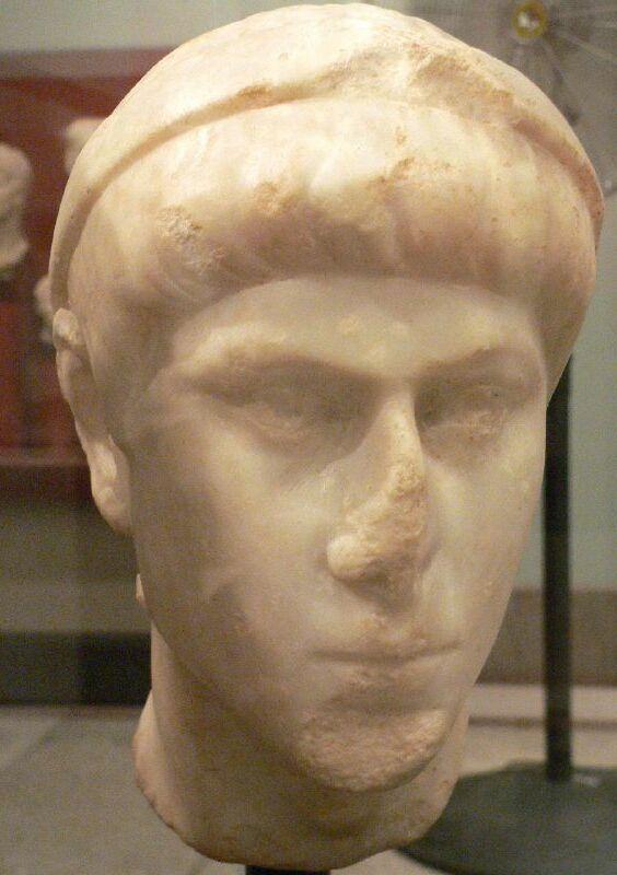 Bust of Constantius II (Mary Harrsch).jpg
