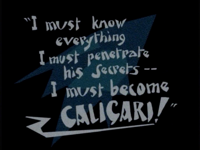 The Cabinet of Dr. Caligari - Wikiquote