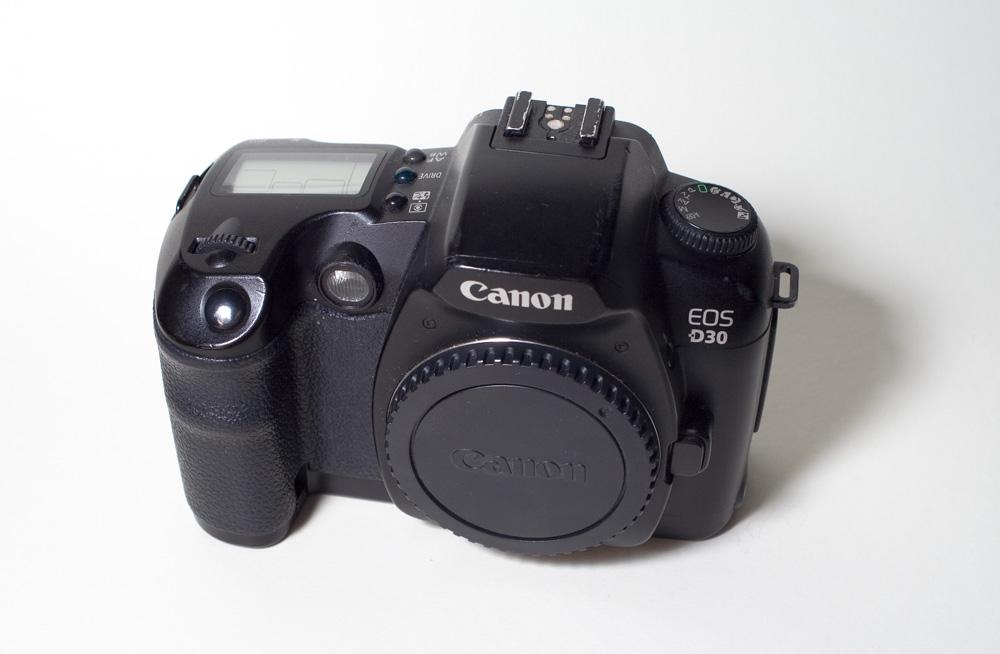 Canon EOS D30 image
