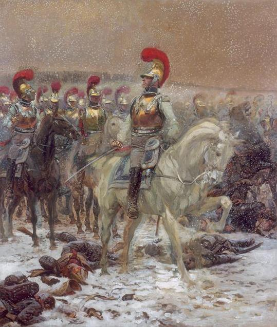 Carabiniers-à-Cheval during the Russian Campaign.