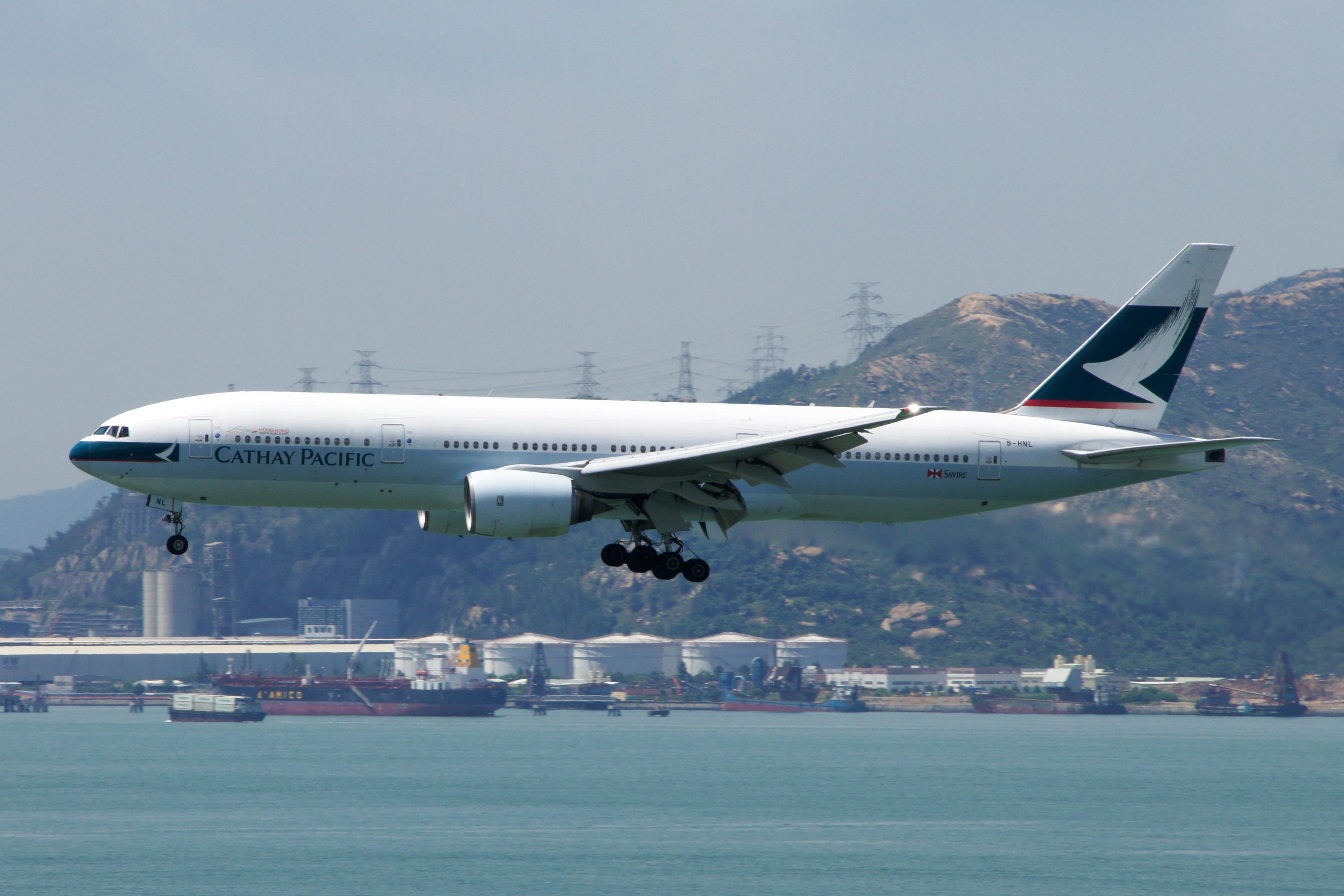 File Cathay Pacific Boeing 777 267 B Hnl Jpg
