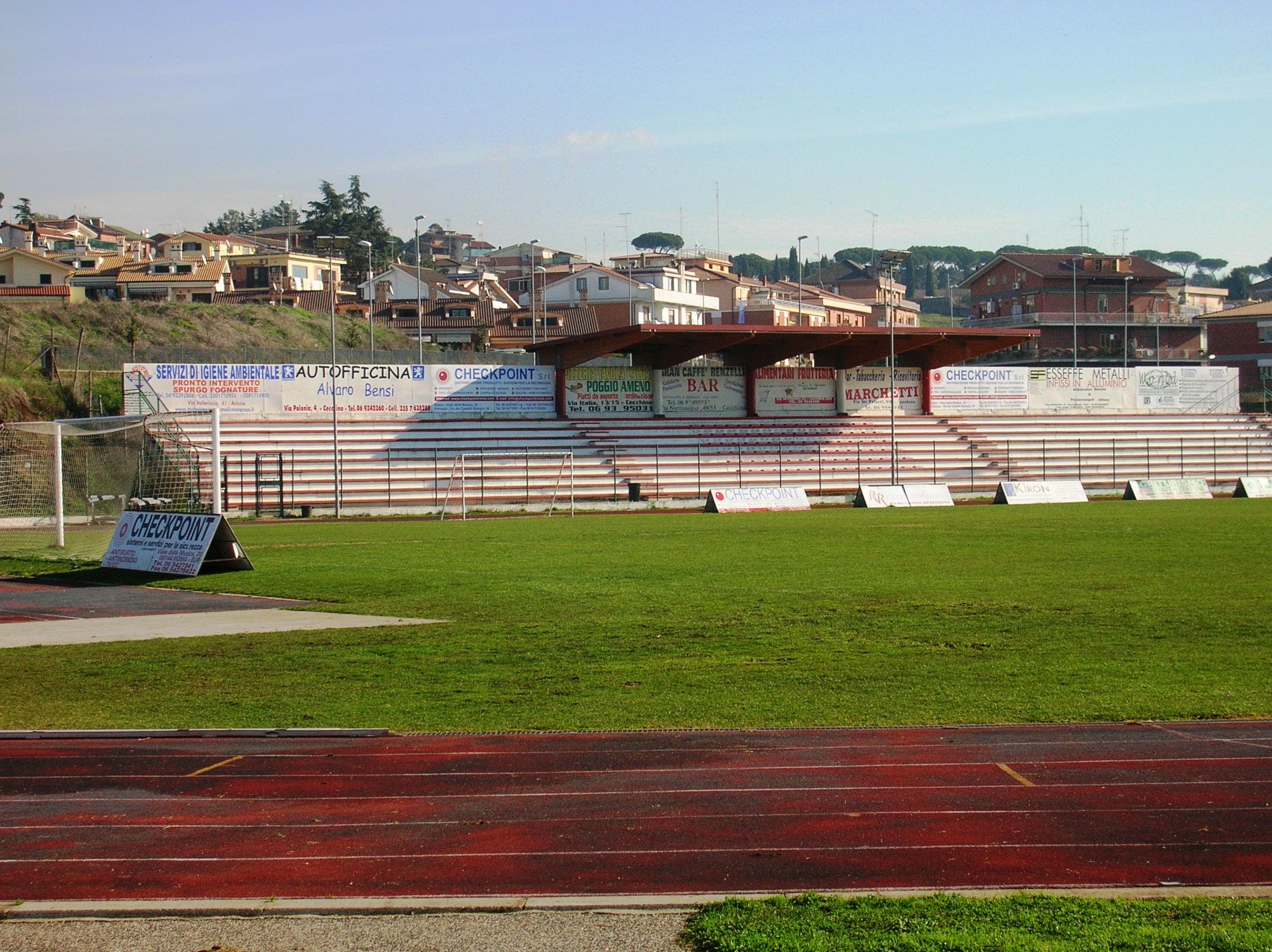 Risultati immagini per stadio pio xii albano laziale