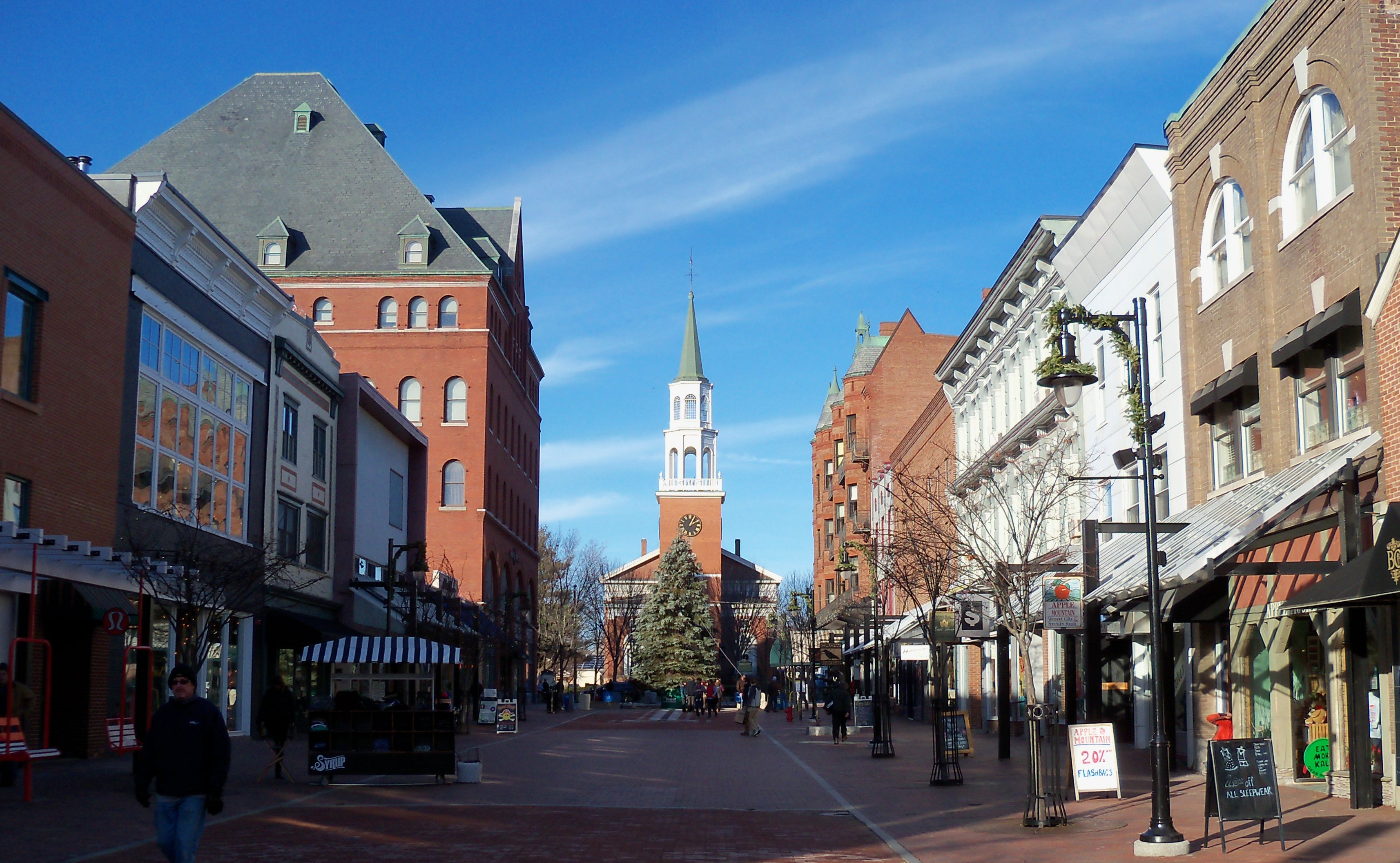 burlington vermont happiest small towns