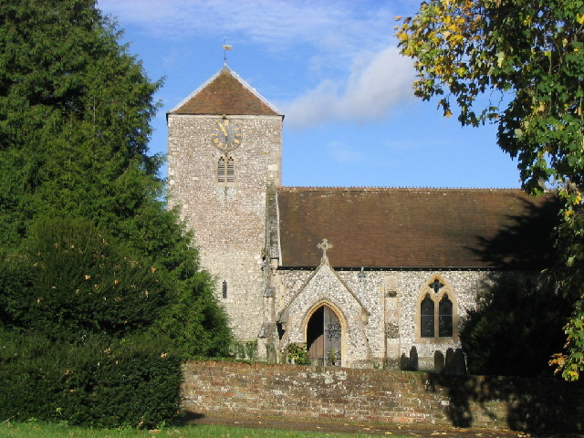 File:Church at Wootton St. Lawrence - geograph.org.uk - 73850.jpg