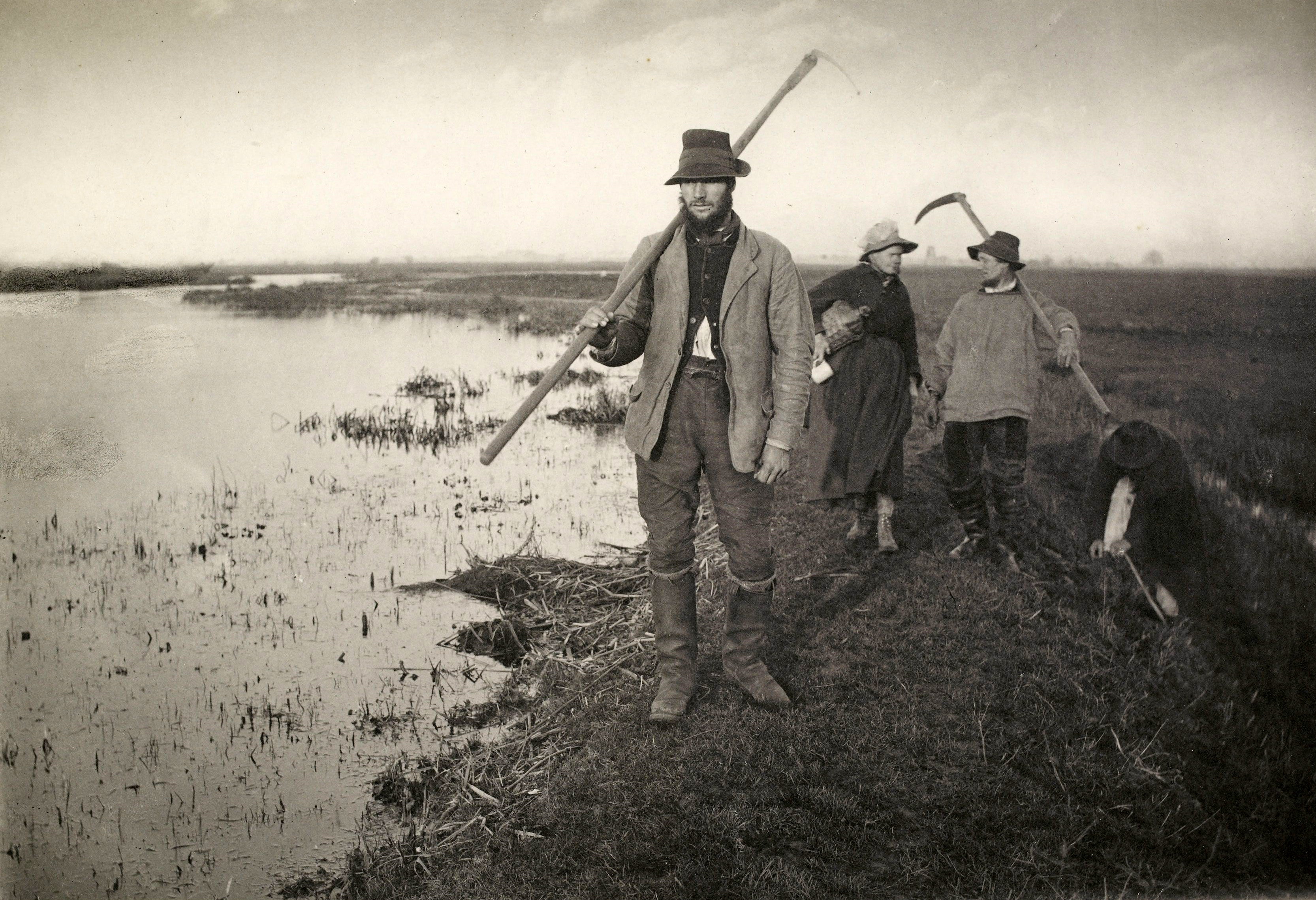 Coming home from the marshes, 1886. Peter Henry Emerson